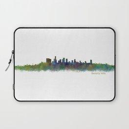 Beverly Hills City in LA City Skyline HQ v2 Laptop Sleeve