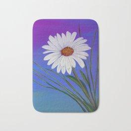 White daisy -2 Bath Mat
