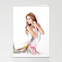 fairy Stationery Cards featuring fairy by tatiana-teni