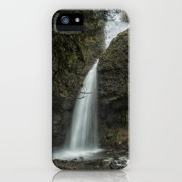 Upper Latourell Falls, No. 1 iPhone Case