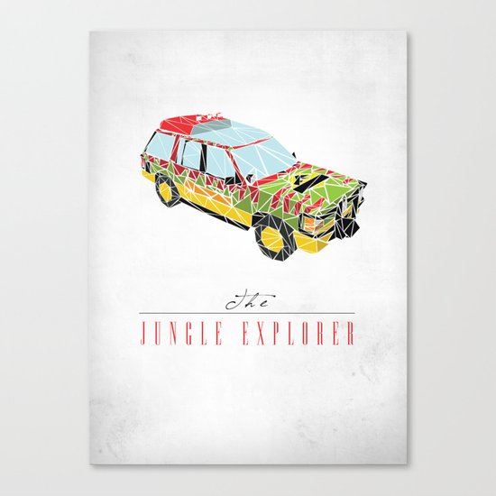 The Jungle Explorer  Canvas Print
