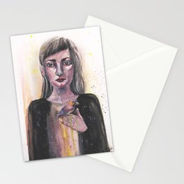 waiting patiently Stationery Cards