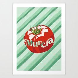 Tomate Murcia Art Print
