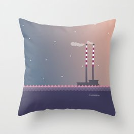 Poolbeg Dublin Throw Pillow