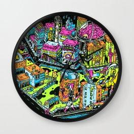 Chicagoloom, Gloom Bones' Neon interpretation of Chicago Wall Clock