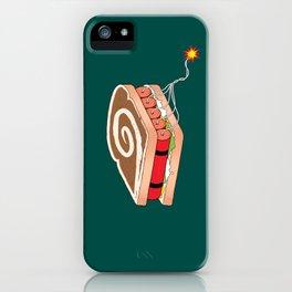 Dynamite Sandwich iPhone Case