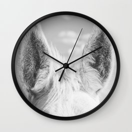 Horse Ears Wall Clock