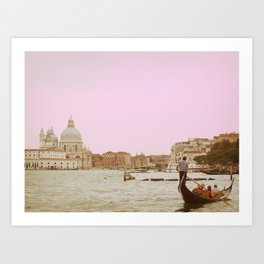 Venice in a Dream Art Print
