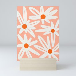 Happy Daisies Mini Art Print