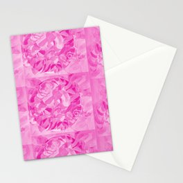 Rose Petals Series Paintings Stationery Cards