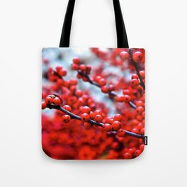 Festive Berries 2 Tote Bag