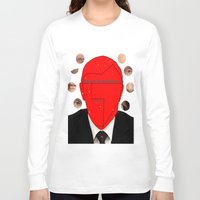 putin Long Sleeve T-shirts featuring Putin-Quiz  by Alessandro De Vita