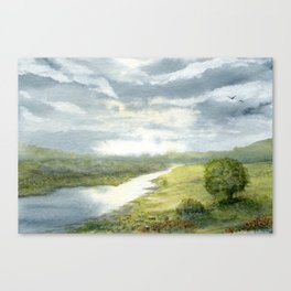 And So On Canvas Print