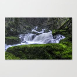Power Of Water Canvas Print