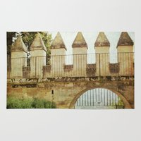 castle Area & Throw Rugs featuring Castle by ZenzPhotography