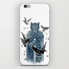 Wolf And Ravens iPhone Skin