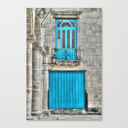 Cuba architecture Canvas Print