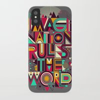 imagination iPhone & iPod Cases featuring IMAGINATION by dzeri29
