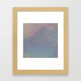 Grunge is Dead Framed Art Print