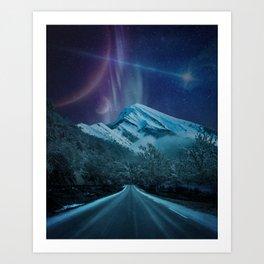 Northern Nights I Art Print