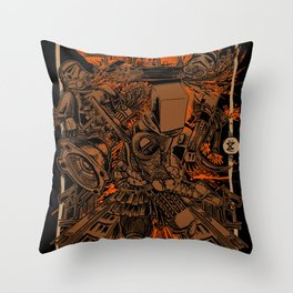 SAMURAI 2 Throw Pillow
