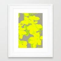 olivia joy Framed Art Prints featuring joy  by Garima Dhawan