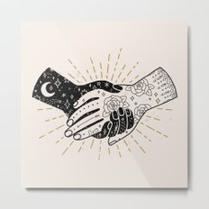 Hold On Metal Print