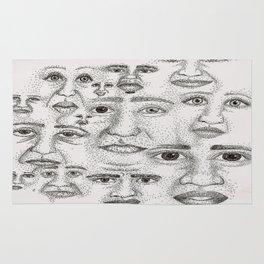 Faces Rug