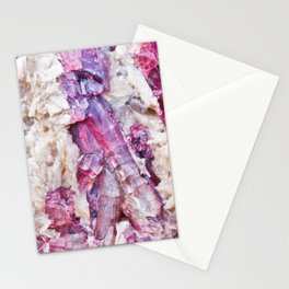 Magical pink crystal - gemstones, photography #Society6 Stationery Cards