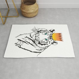 Shere Khan (Tiger King)  Rug