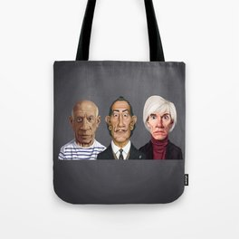 Great Artists Tote Bag