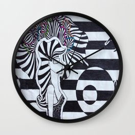 Colors of the Mind Wall Clock