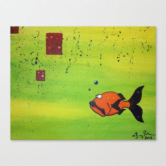 Blown Away Canvas Print