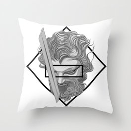 New times, Old Blades Throw Pillow
