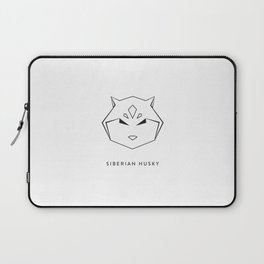 Siberian Husky 2 Laptop Sleeve
