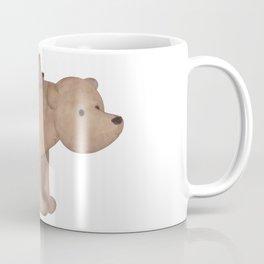 Papa Bear Piggy Back Coffee Mug