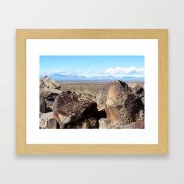Desert Art Framed Art Print