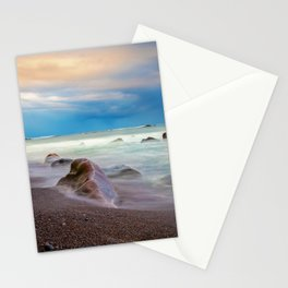 maia beach 2 Stationery Cards