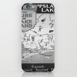 old placard Gippsland Lakes iPhone Case