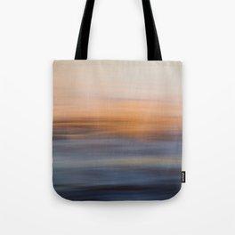 Undulating Sunset Tote Bag