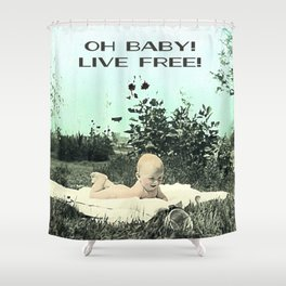 Oh Baby! Shower Curtain