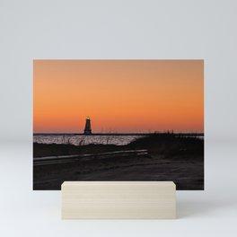 Orange Coast Mini Art Print
