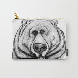 A big, cuddly, grizzly bear! Carry-All Pouch