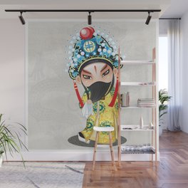 Beijing Opera Character LiuBei Wall Mural