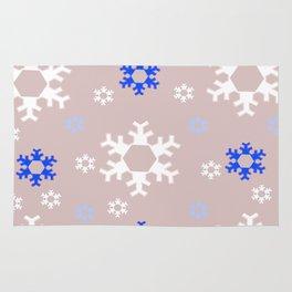 Snowflakes Rug