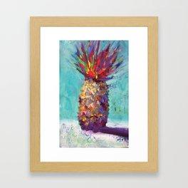 Red Crown Framed Art Print