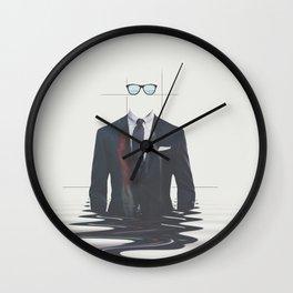 Swimingly Wall Clock