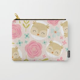 Beautiful owls Carry-All Pouch