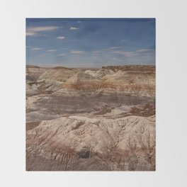 Colors Of The Painted Desert Throw Blanket