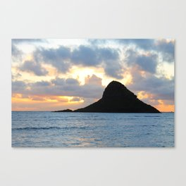Mokoli'i Sunrise Canvas Print